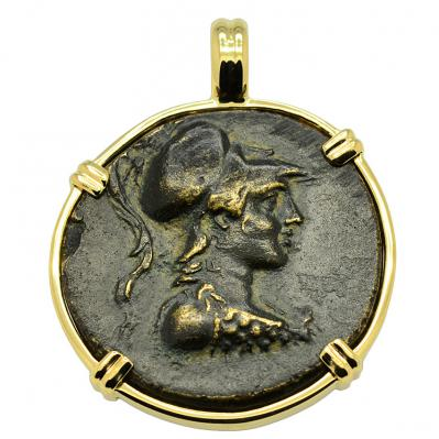 SOLD Athena and Eagle Pendant. Please Explore Our Greek Pendants For Similar Items.