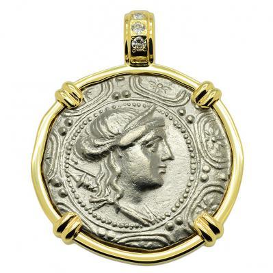 Artemis Tetradrachm Pendant
