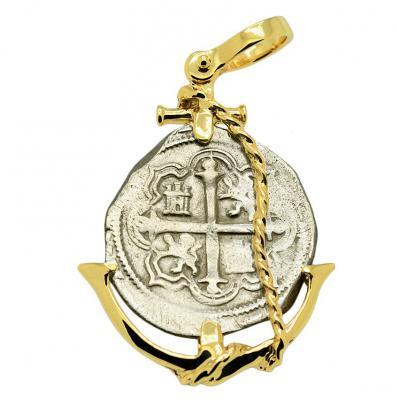 King Philip IV Spanish 2 Reales Pendant