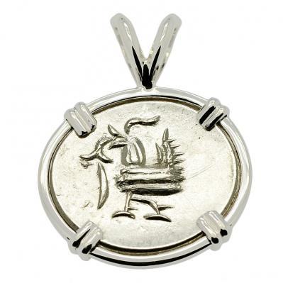 Hamsa Bird Fuang Pendant
