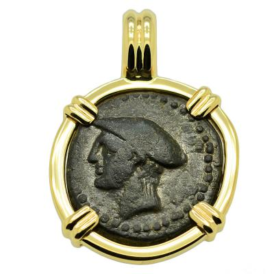 Hermes and Lyre Pendant