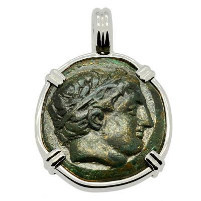 Philip II Apollo and Horseman Pendant