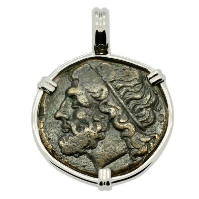 SOLD Poseidon Tetras Pendant. Please Explore Our Greek Pendants For Similar Items.