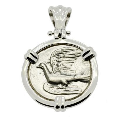 Sikyon Dove Triobol Pendant