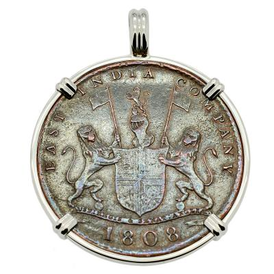 SOLD Admiral Gardner Shipwreck Coin Pendant. Please Explore Our Admiral Gardner Shipwreck Pendants For Similar Items.
