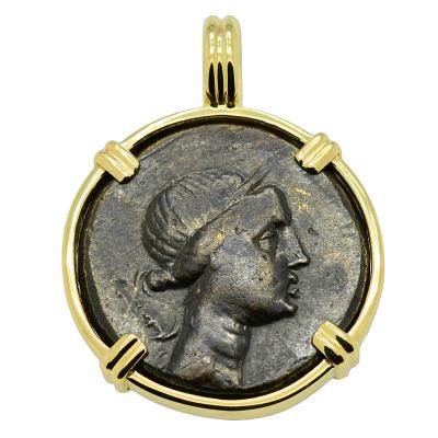Artemis and Tripod Pendant