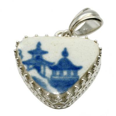 SOLD Caribbean Shipwreck Pottery Pendant. Please Explore Our Pottery Pendants For Similar Items.