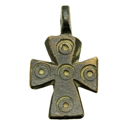 Genuine Byzantine 5 Wounds of Christ cross