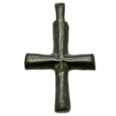 7th - 11th Century Byzantine bronze cross