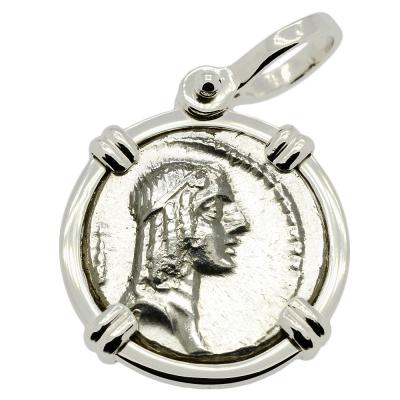 Apollo and Horseman Denarius Pendant