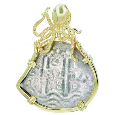 SOLD Consolacion Shipwreck 4 Reales Pendant; Please Explore Our Spanish Treasure Pendants For Similar Items.