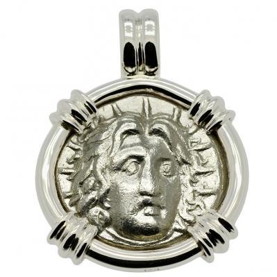Helios Didrachm Pendant