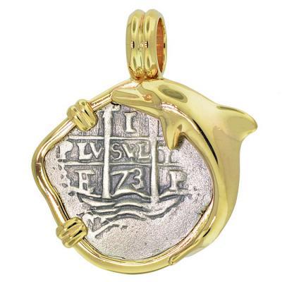 SOLD Consolacion Shipwreck 1 Real Pendant; Please Explore Our Spanish Treasure Pendants For Similar Items.