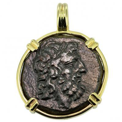 Zeus & Eagle Pendant
