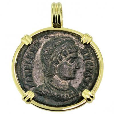 SOLD Saint Helena Follis Pendant; Please Explore Our Roman Pendants For Similar Items.