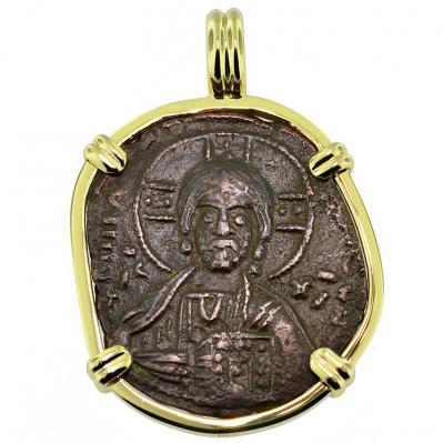 SOLD Jesus Christ Follis Pendant