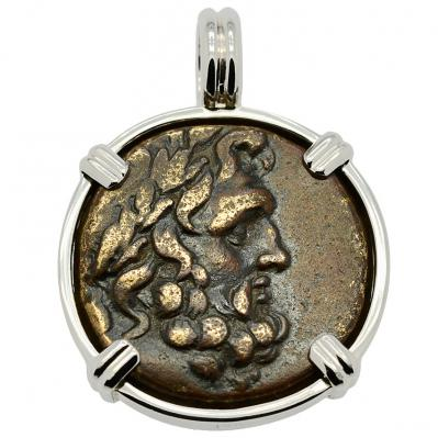 SOLD Zeus & Artemis Pendant; Please Explore Our Greek Pendants For Similar Items.