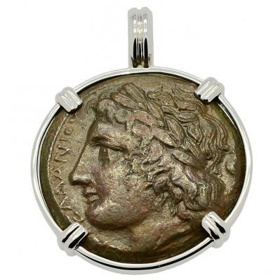 Zeus and Eagle Pendant