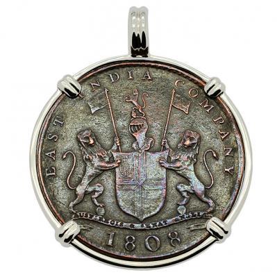 SOLD Admiral Gardner Shipwreck Coin Pendant. Please Explore Our Admiral Gardner Shipwreck Pendants For Similar Items.