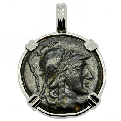 SOLD Athena and Trophy Pendant; Please Explore Our Greek Pendants For Similar Items.