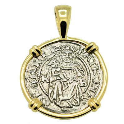 SOLD Madonna and Child Denar Pendant; Please Explore Our Medieval Category For Similar Items.