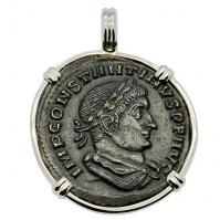 Constantine the Great and Sol Pendant