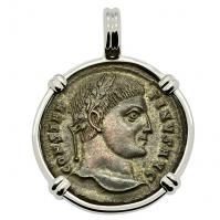 SOLD Constantine the Great Pendant. Please Explore Our Roman Pendants For Similar Items.