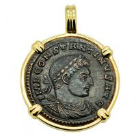 Constantine the Great & Sol Pendant