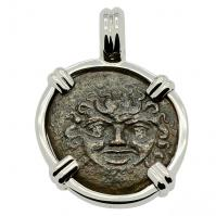 Gorgon and Owl Tetras Pendant