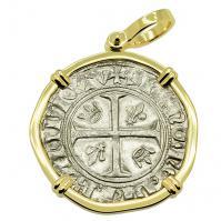 King Charles VI Blanc Guenar Pendant