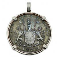 Admiral Gardner Shipwreck Coin Pendant