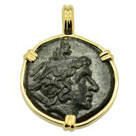 Perseus and Eagle Pendant