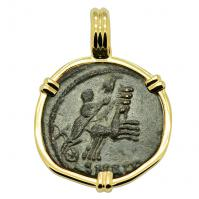 Constantine Hand of God Follis Pendant