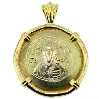 #6346 Jesus Christ Nomisma Pendant