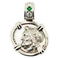 #6430 Zeus & Pan Triobol Pendant