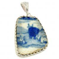 #7036 Caribbean Shipwreck Pottery Pendant