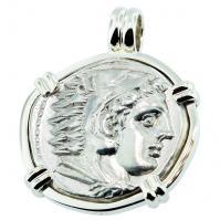 #7309 Alexander the Great Tetradrachm Pendant