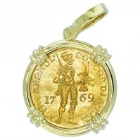 #7317 Dutch Ducat Pendant