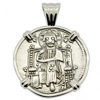 #7993 Venetian Jesus Christ Grosso Pendant