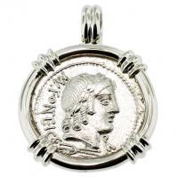 #8255 Apollo & Cupid Denarius Pendant