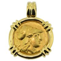 SOLD #8323 Alexander the Great Stater Pendant; Please Explore Our Greek Pendants For Similar Items.