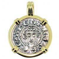 #8426 King John I Penny Pendant