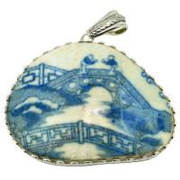 SOLD #8451 Caribbean Shipwreck Pottery Pendant; Please Explore Our Pottery Pendants For Similar Items.