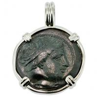 SOLD Philip II Apollo & Horseman Pendant; Please Explore Our Greek Pendants For Similar Items.
