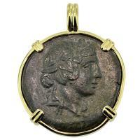 #8463 Dionysus & Cista Mystica Pendant