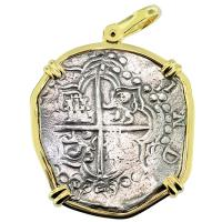 SOLD Santa Margarita Shipwreck 8 Reales Pendant; Please Explore Our Spanish Shipwreck Pendants For Similar Items.