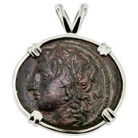 #8726 Artemis & Boar Pendant