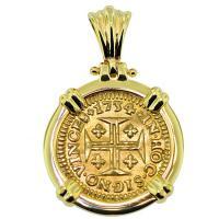 #8803 Portuguese 400 Reis Pendant