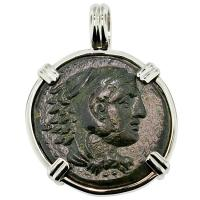 #8829 Alexander the Great Coin Pendant