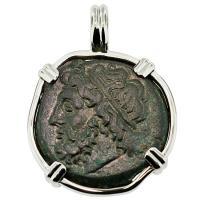 SOLD #8832 Poseidon Tetras Pendant; Please Explore Our Greek Pendants For Similar Items.